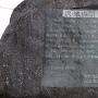 城跡碑の説明