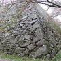 天守閣の石垣