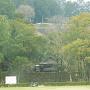 人吉城・三の丸跡の遠景