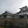 曇天の菱櫓