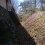 大峰城本郭の土塁
