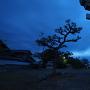 八幡神社鳥居と城址碑