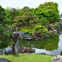 春雨の「二の丸庭園 」⑧