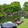 春雨の「二の丸庭園」⑦