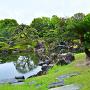 春雨の「二の丸庭園」⑥