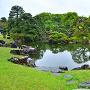 春雨の「二の丸庭園」④