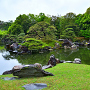 春雨の「二の丸庭園」③