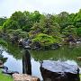 春雨の「二の丸庭園」②