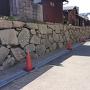 鍛治屋敷跡の石垣