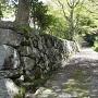 石動山城跡への道