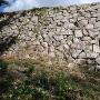 中太鼓の丸跡の石垣