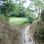 竪堀の様な地形