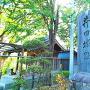 井田城址石碑