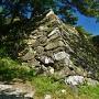 本丸跡石垣