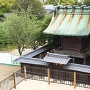 天守台から見た柳沢神社