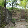 三の丸と本丸間の堀