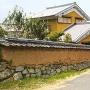 高取藩総門跡と土塀