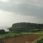 堂崎城全景