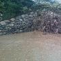 有岡城本丸石垣