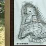 福与城跡概要図