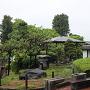 箕郷支所にある庭園