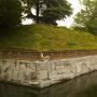 壬生城・堀と土塁