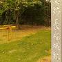 長福城跡碑