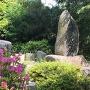 山崎合戦石碑