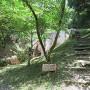 尾根登山道入り口
