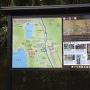 リフト乗り場の周辺地図