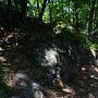 石垣(曲輪南側)