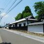 亀山城・加藤家長屋門(武家屋敷跡)