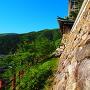 石垣と天守台