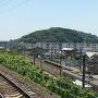 高岡城遠景