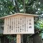 信長塀(熱田神宮)の案内板
