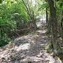いずし古代学習館側の登山道