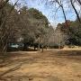 三蔵神社社殿と土塁