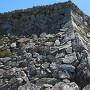大洲の石垣はワイルドでした! 石垣稜線シリーズ2