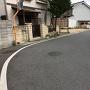 北総門付近の鍵型に屈曲した旧東海道