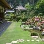 龍潭寺の庭園(春)[提供:浜松市]