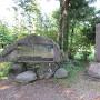 箕輪城跡石碑