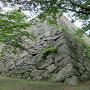 天守台の石垣