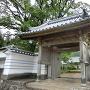 城主、木下家の菩提寺「松屋寺」(しょうおくじ)入口