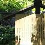 岩室神社の説明板