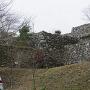 見上げる石垣