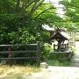 木場八幡宮入口