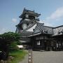 天守(南側)と本丸御殿