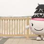 姫路城マスコット(マラソン仕様)