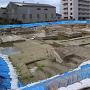 池泉庭園と礎石建物跡の現状