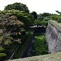 石垣と水濠